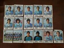 16 FIGURINE PANINI Napoli -CALCIATORI 1982-83- RECUPERO