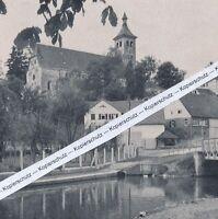 Denkendorf - Kirche des Augustinerklosters - um 1935           G 21-10