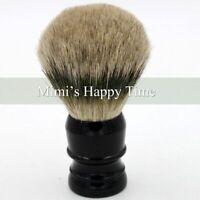 Extra Density 100% Silvertip Finest Badger Hair Shaving Brush 29mm Knot Black