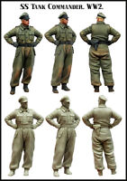 1:35 WWII German tank officer High Quality Resin Kit