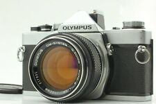 【Near MINT Lens ASIS】 Olympus OM-1 35mm Film Camera w/ 50mm f1.4 from JAPAN T197