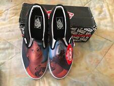 Vans Custom Culture Classic Slip On Sneakers Tattoo girl INK'D Model Mens 11.5