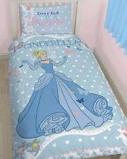 Le Ragazze Principessa Cenerentola singolo set copripiumino Disney ogni ragazza è una principessa CIARE