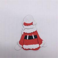 Stanzschablone Weihnachtsmann Familie Weihnachten Hochzeit Oster Karte Album DIY
