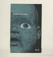 1951 Robert M. Jones Columbia RECORDS Art Director DESIGN & PAPER Promotion BK