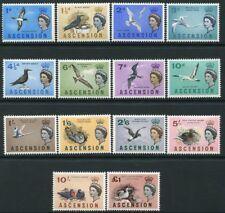 ASCCENSION-1963 Birds Set Sg 70-83 MOUNTED MINT V19984