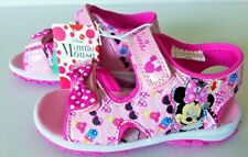 Disney Minnie Mouse Sandals with bow - NEW - Size 7 (Toddler)