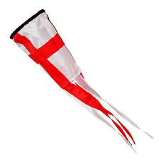 ST GEORGE WINDSOCK for FLAG POLE with LINE + SWIVEL camping caravan motorhome