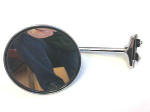 1930-1956 Dodge, Plymouth, DeSoto, Chrysler Exterior Rear View Mirror!