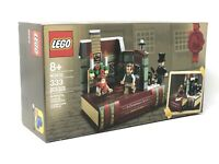 LEGO 40410 Charles Dickens A Christmas Carol Tribute Exclusive NEW