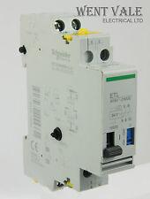 Schneider ETL 15533 16ax dos polos Relé de impulsos/bobina de contacto Aux 24vac Nuevo