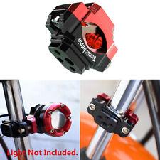 CNC Scooter Moped Handlebar Holder Riser Mount Clamp For Light Mirrors 18-28mm