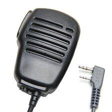 Rainproof 2-Pin Shoulder Remote Speaker Mic Microphone PTT For Kenwood Baofeng