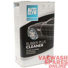 AUTOGLYM RUBBER PLUS CLEANER 5LITRE - PROFESSIONAL - BRUSH ON TYRE HIGH SHINE