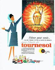 Publicité Advertising 058  1963   huile de Tournesol