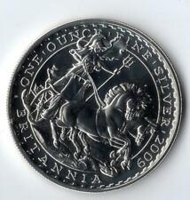 2009 United Kingdom £2 Silver Britannia - 1Oz Fine Silver
