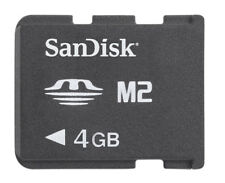 PSP Go! SanDisk Memory Stick Micro M2 4GB Card IT IMPORT SANDISK