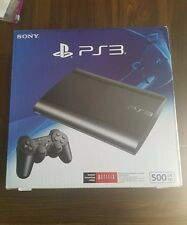 PS3 500 gb Super Slim console, BRAND NEW in original box, Sony, Playstation 3