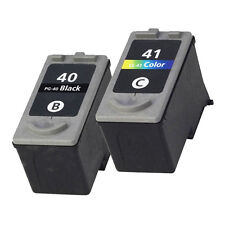 2Pack PG 40XL CL 41XL Ink Cartridges for Canon PIXMA MP150 MP140 MX300 MX310