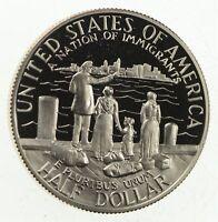 PROOF 1986-S Ellis Island Immigrants Liberty US Mint HALF DOLLAR Commemorative