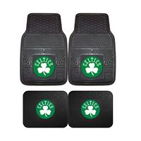 Boston Celtics NBA 2pc and 4pc Mat Sets - Heavy Duty-Cars, Trucks, SUVs