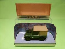 DINKY TOYS DY9 LAND ROVER 1949 - GREEN 1:43 - GOOD CONDITION IN BOX