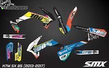 KTM SX 85 2013-2017 motocross graphics kit decal kit MX decor for SX85 stickers