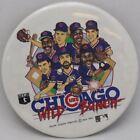 """Vintage Chicago Cubs 1989 Wild Bunch 3"""" Button Rare Find"""