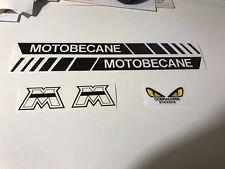 Autocollant planche Mbk 51 motobecane   couleur au choix
