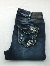 NEW Silver Jeans Women's AVERY BOOTCUT Leg Mid Rise Plus Size 90818A