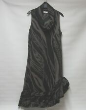 MAIS IL EST OU LE SOLEIL? LAGENLOOK ARTSY BOHO ASYMMETRIC QUIRKY DRESS UK 12