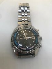 Stunning Rare Vintage 1970s 'triple star' Orient King Diver, Day-date Automatic