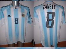 Argentina ZANETTI Adidas Shirt Adult XL Jersey Football Soccer Inter Milan 2004