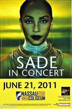 Sade Concert Handbill Mini Poster Nassau Coliseum