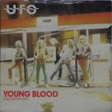"UFO 'YOUNG BLOOD' UK RED VINYL IMPORT PICTURE SLEEVE 7"" SINGLE #2"