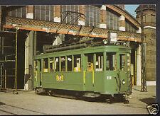 Transport Postcard - 1932/33 Erhielten Die Basler Strassenbahnen  A7748