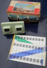 Stéréoscope Lestade hellgrün + 2 Bildplatten