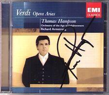 Thomas Hampson SIGNED verdi concretarsi Macbeth CORSARO trovatore GIOVANNA D'ARCO CD