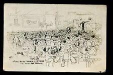 Navy British Comic Animated drawing dance hall Sailors buying shares McEwans PPC