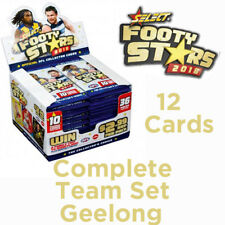 2018 AFL SELECT FOOTY STARS CARDS COMPLETE TEAM SET - GEELONG