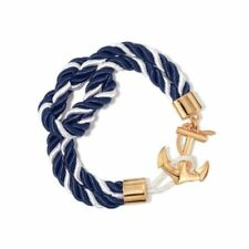 ~ Avon ~ Nautical Anchor Cord Bracelet ~ New Factory Sealed ~ From 2016 ~