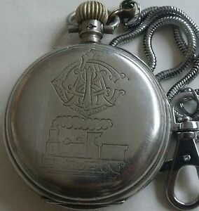 VERY RARE-LONGINES-SWISS POCKET WATCH-railROAD