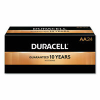 Duracell CopperTop Alkaline Batteries Technology AA - NEW FRESH DATES 24/bx