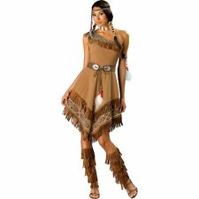 In Character Indian Maiden Womans Elite Costume Adult Small Native American