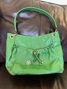 Relic Brand Purse Green Gold Hardware Satchel Handbag Zipped Spring Shoulder Bag
