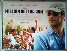 Cinema Poster: MILLION DOLLAR ARM 2014 (Quad) Alan Arkin Bill Paxton Jon Hamm
