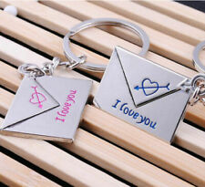 Love Letters - Couple Keychain Keyring Key Ring