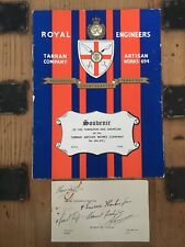 More details for 1940 royal engineers tarran company formation book,signed by robert.g.tarran