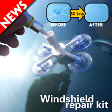 Car Window Glass Crack Chip Resin Windscreen Windshield Repair DIY Tool Kit Set*
