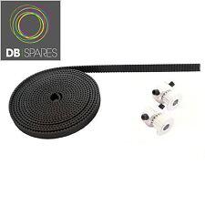 2 Metres 3D Printer GT2 Timing Belt and Pulleys 16 Teeth 5mm Shaft - Reprap